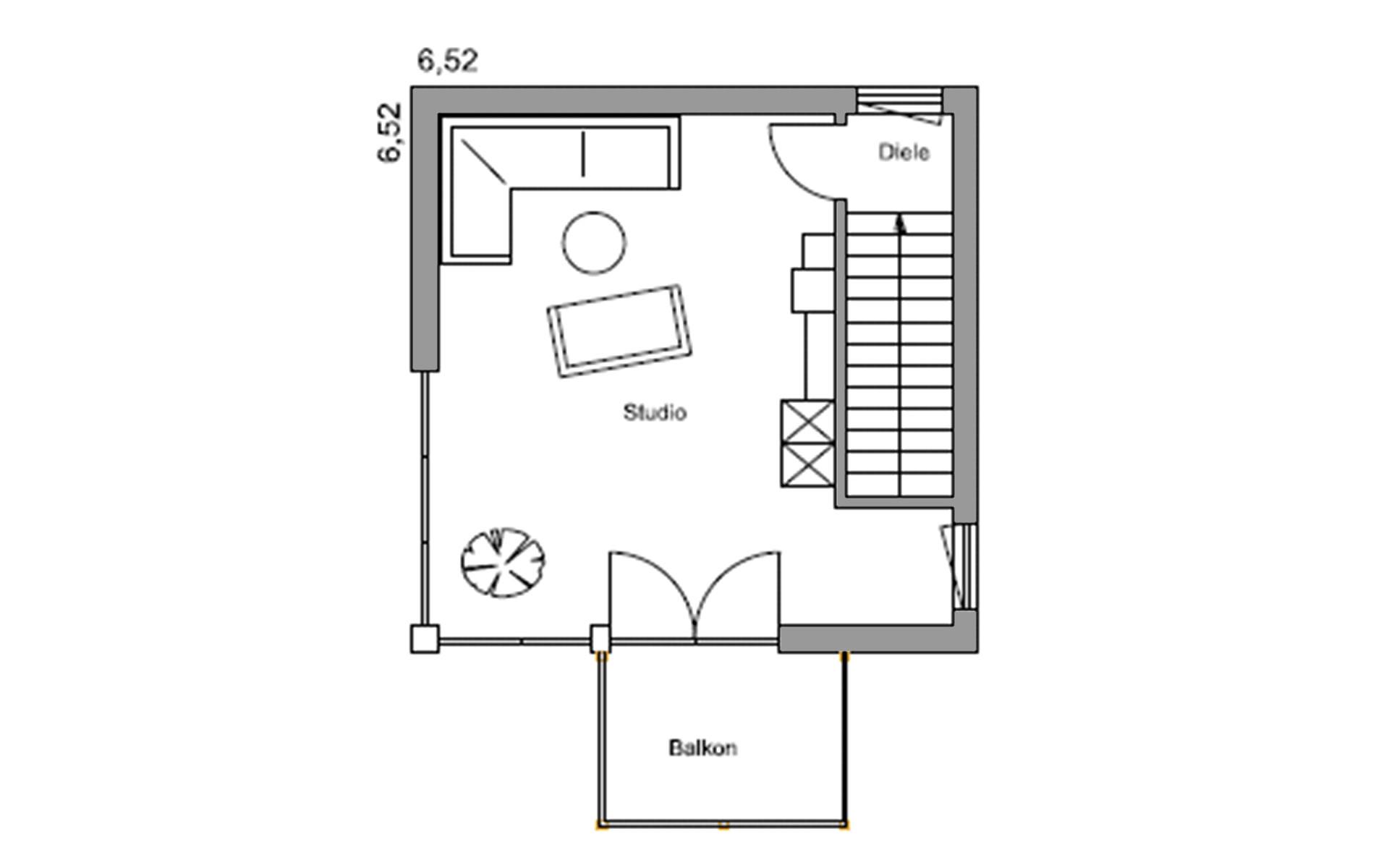 Dachgeschoss Julia von Regnauer Hausbau GmbH & Co. KG