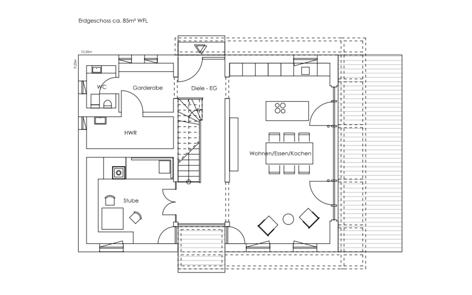 Erdgeschoss Liesl von Regnauer Hausbau GmbH & Co. KG