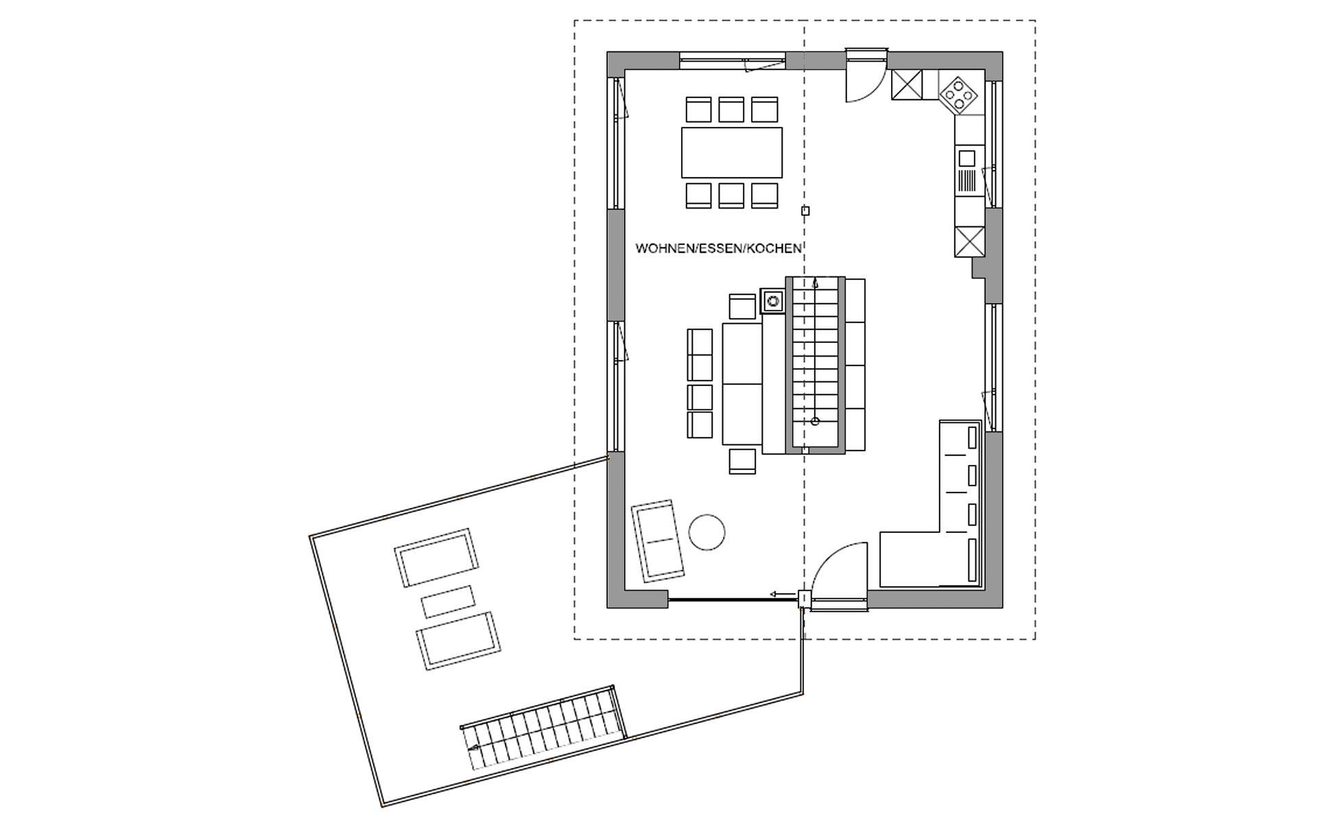 Obergeschoss Waakirchen von Regnauer Hausbau GmbH & Co. KG