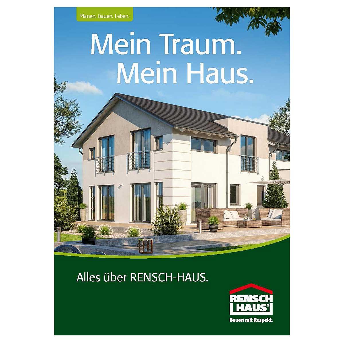 RENSCH-HAUS-Hauskatalog unverbindlich bestellen.