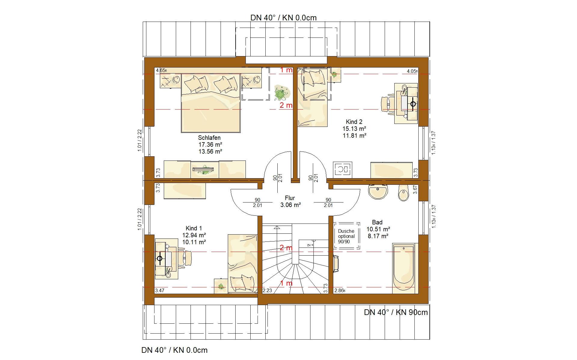 Dachgeschoss CLOU 123 (Pluspaket) von RENSCH-HAUS GMBH