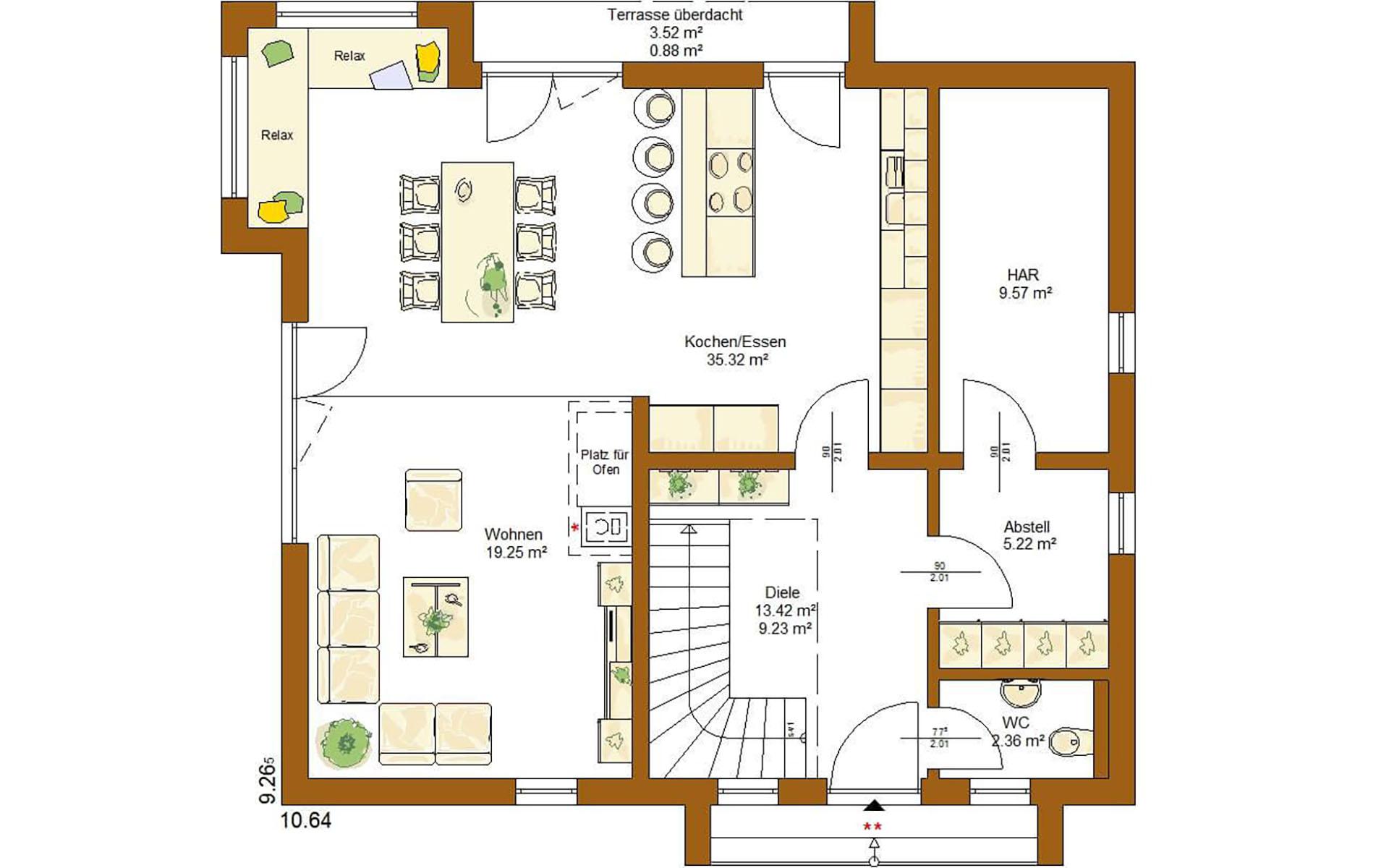 Erdgeschoss Life 150 von RENSCH-HAUS GMBH