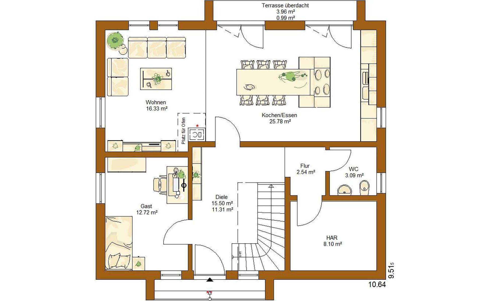 Erdgeschoss Life 157 von RENSCH-HAUS GMBH