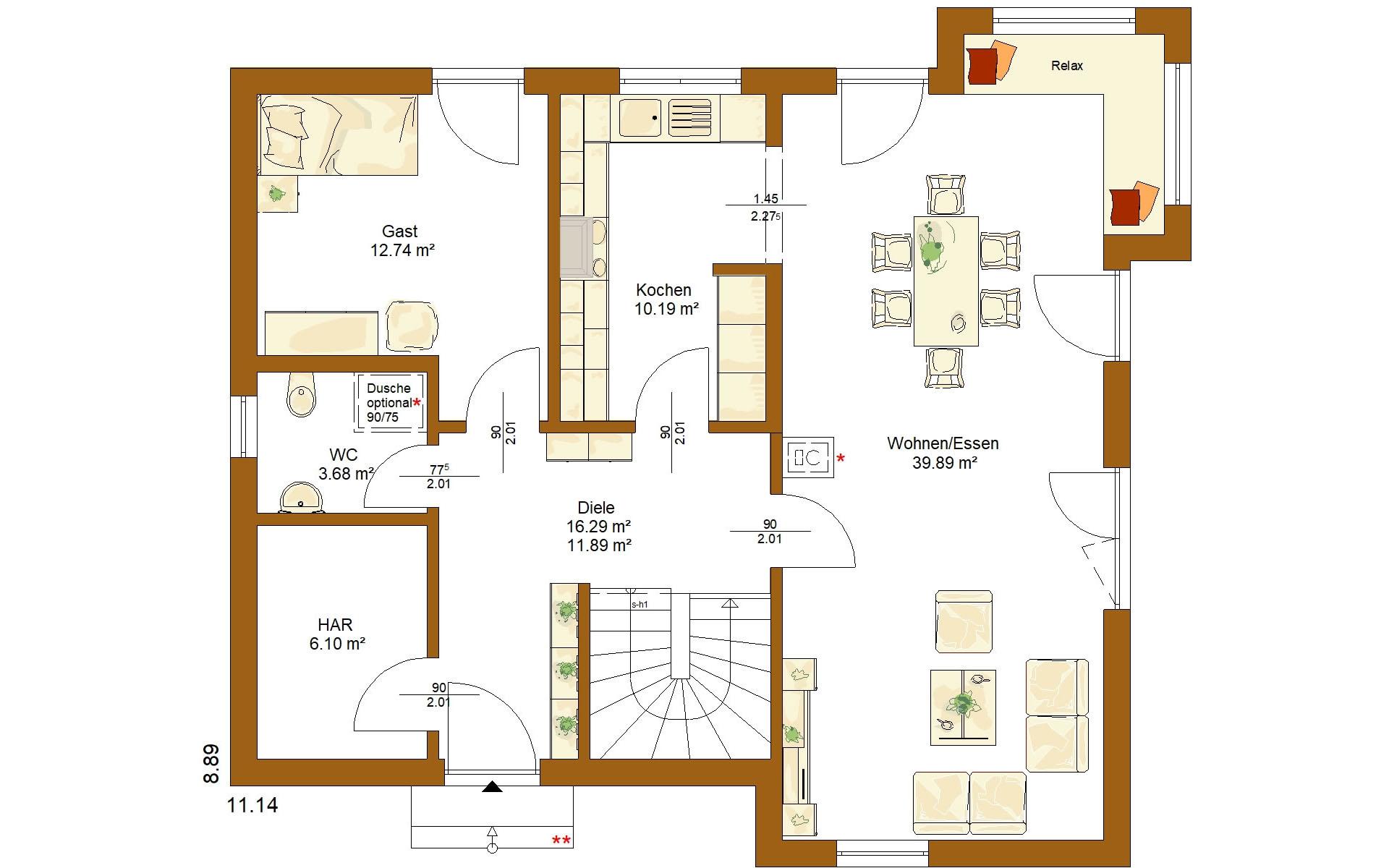 Erdgeschoss Life 159 von RENSCH-HAUS GMBH