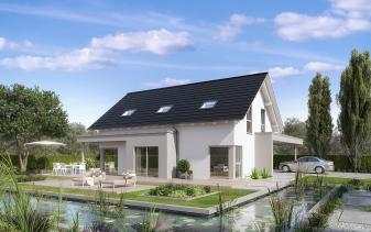 Schwabenhaus - Musterhaus Selection-E-169 E1