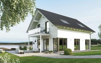 Schwabenhaus - Musterhaus Sensation-E-132 E1