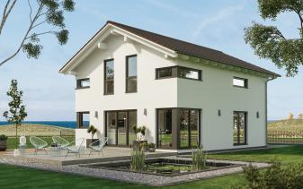 Schwabenhaus - Musterhaus Sensation-E-132 E4