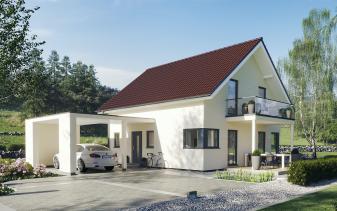 Schwabenhaus - Musterhaus Sensation-E-133 E1