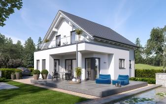 Schwabenhaus - Musterhaus Solitaire-E-115 E1