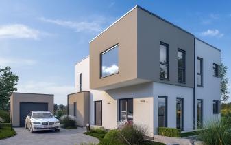 Schwabenhaus - Musterhaus Solitaire-E-155 E9