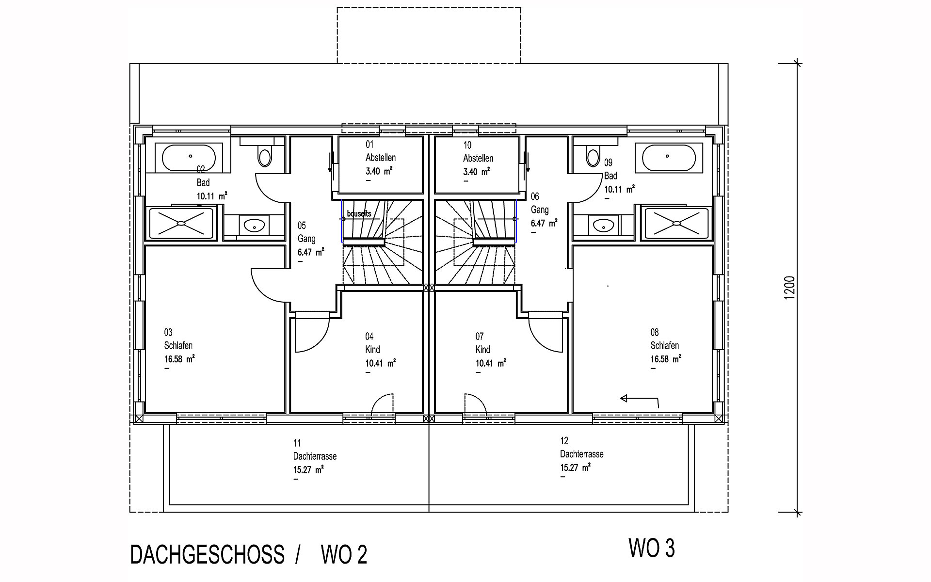 Dachgeschoss Brunnthal von Sonnleitner Holzbauwerke GmbH & Co. KG