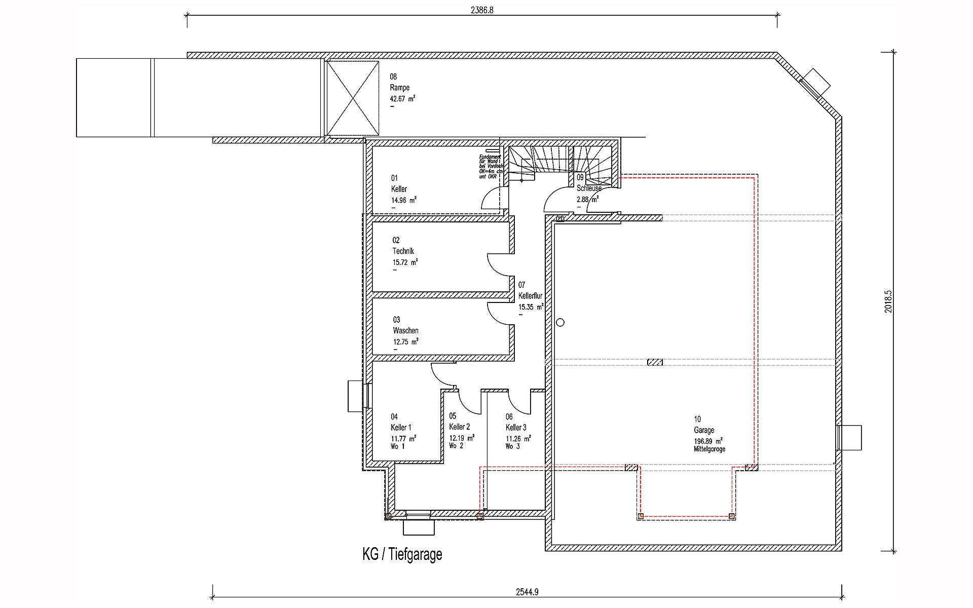 Keller Brunnthal von Sonnleitner Holzbauwerke GmbH & Co. KG