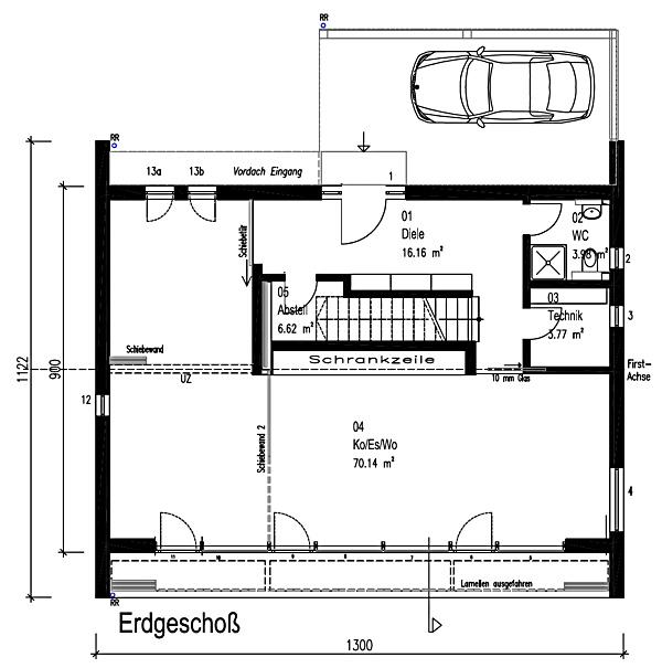 Erdgeschoss Functionality von Sonnleitner Holzbauwerke GmbH & Co. KG