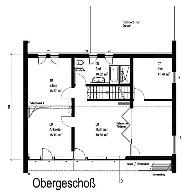 Obergeschoss Functionality von Sonnleitner Holzbauwerke GmbH & Co. KG