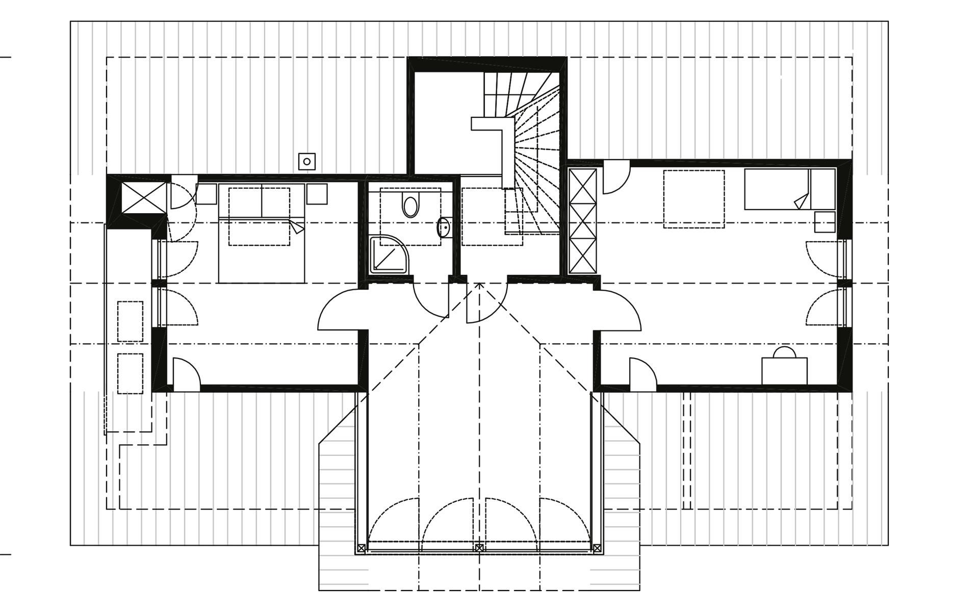 Dachgeschoss Gruber von Sonnleitner Holzbauwerke GmbH & Co. KG