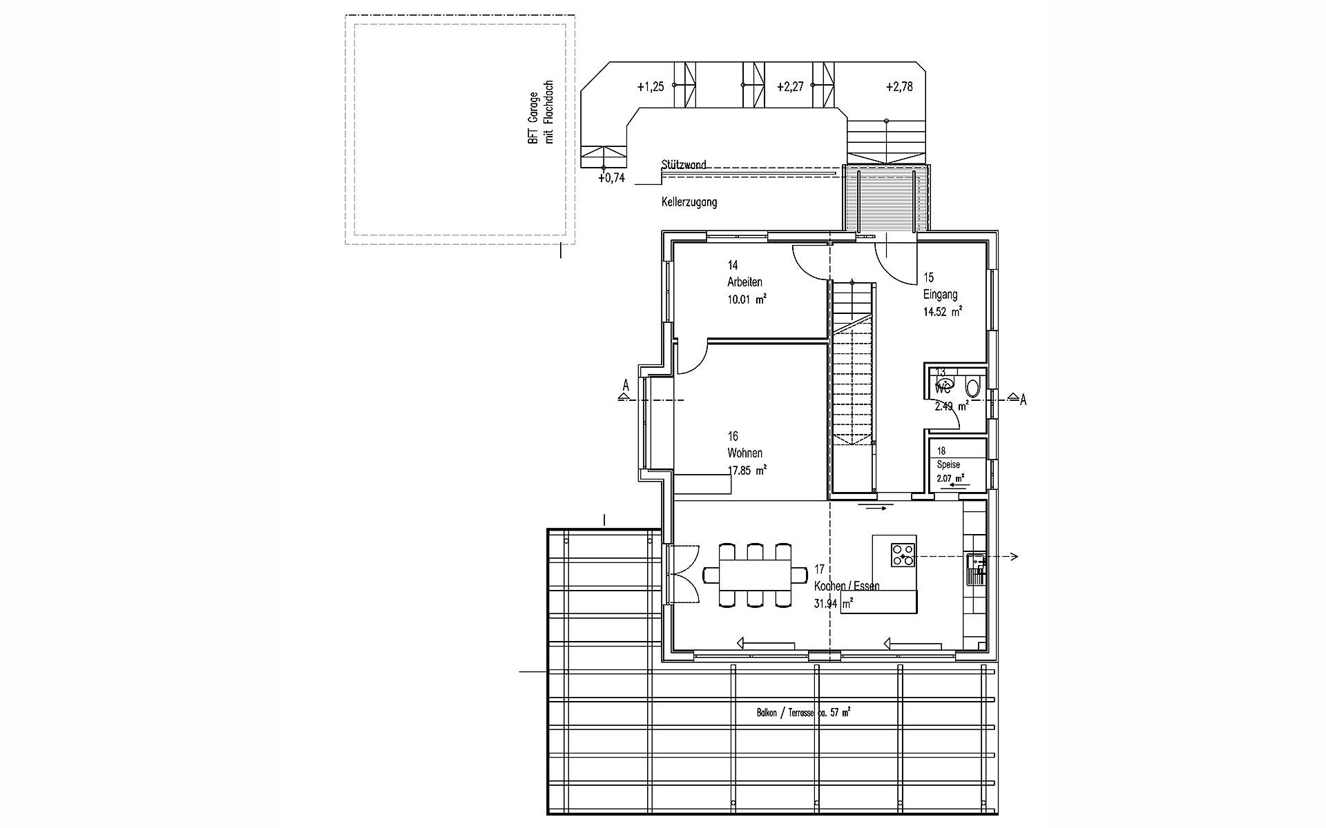 Erdgeschoss Gwandtner von Sonnleitner Holzbauwerke GmbH & Co. KG