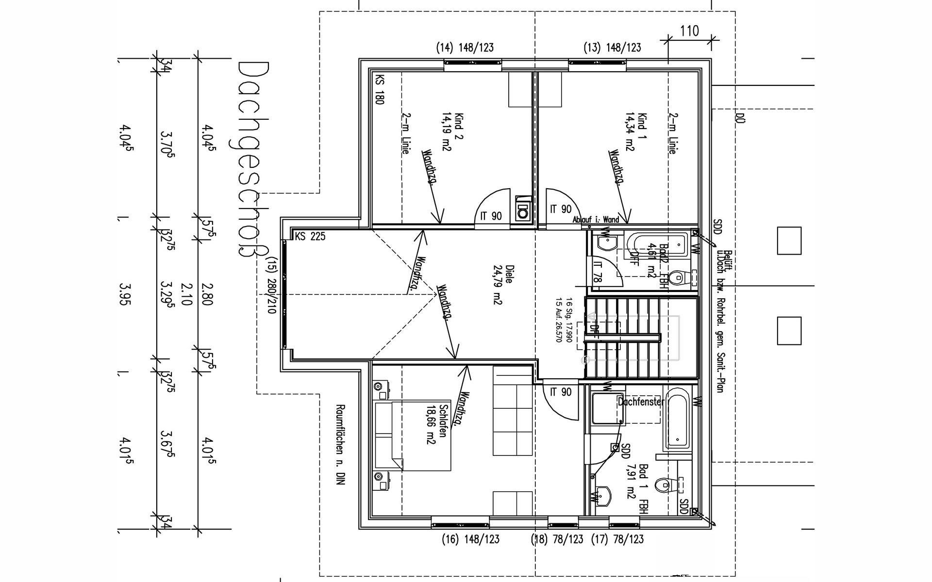 Dachgeschoss Mailinger von Sonnleitner Holzbauwerke GmbH & Co. KG