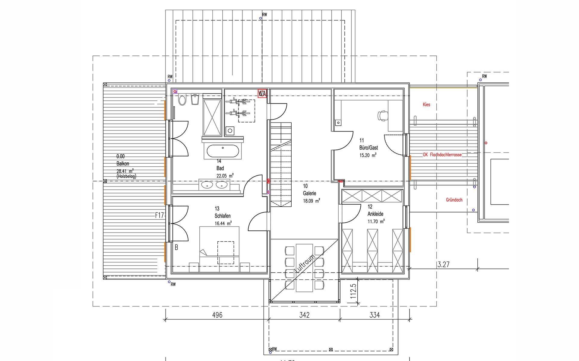 Dachgeschoss Niederhofer von Sonnleitner Holzbauwerke GmbH & Co. KG