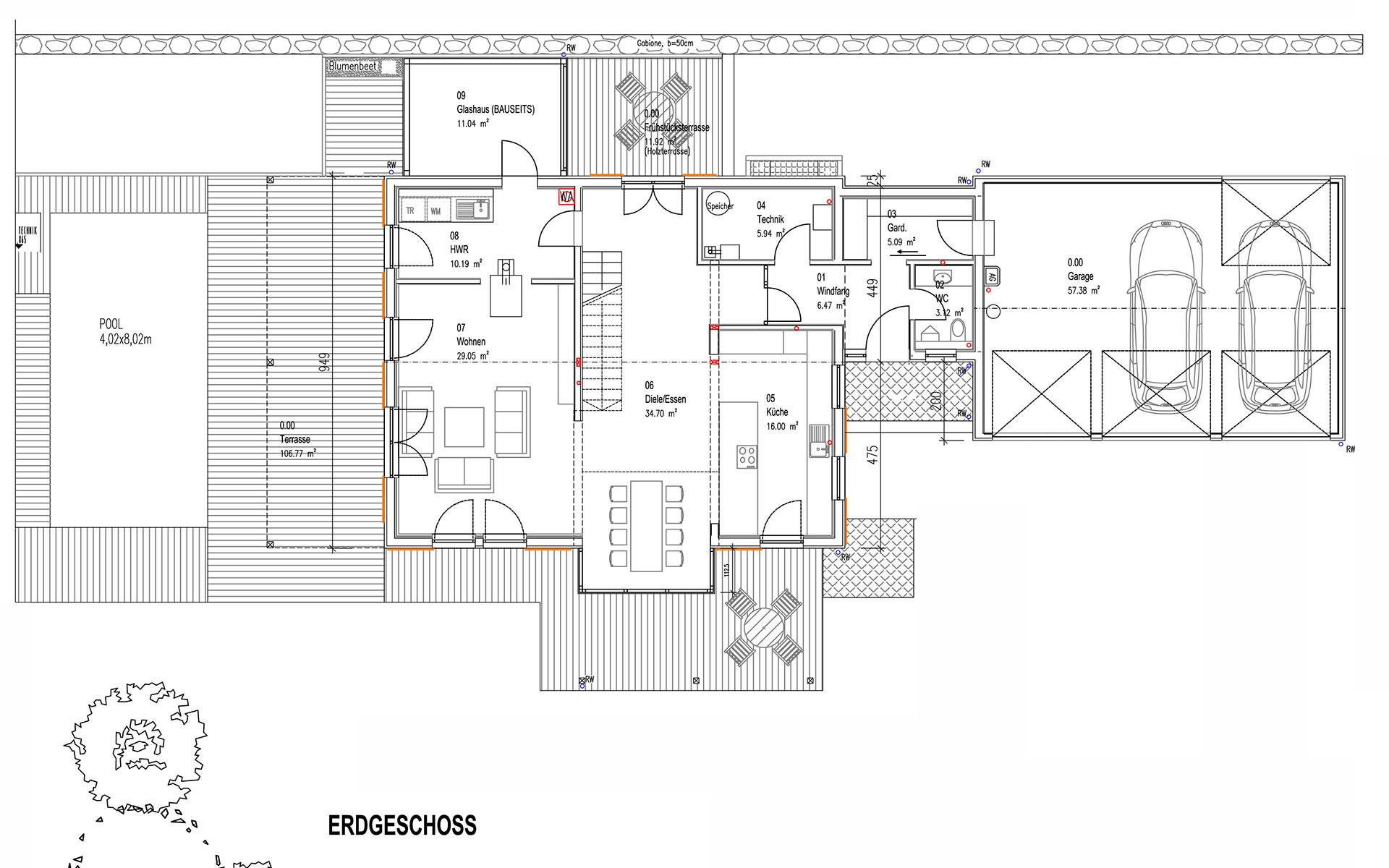 Erdgeschoss Niederhofer von Sonnleitner Holzbauwerke GmbH & Co. KG