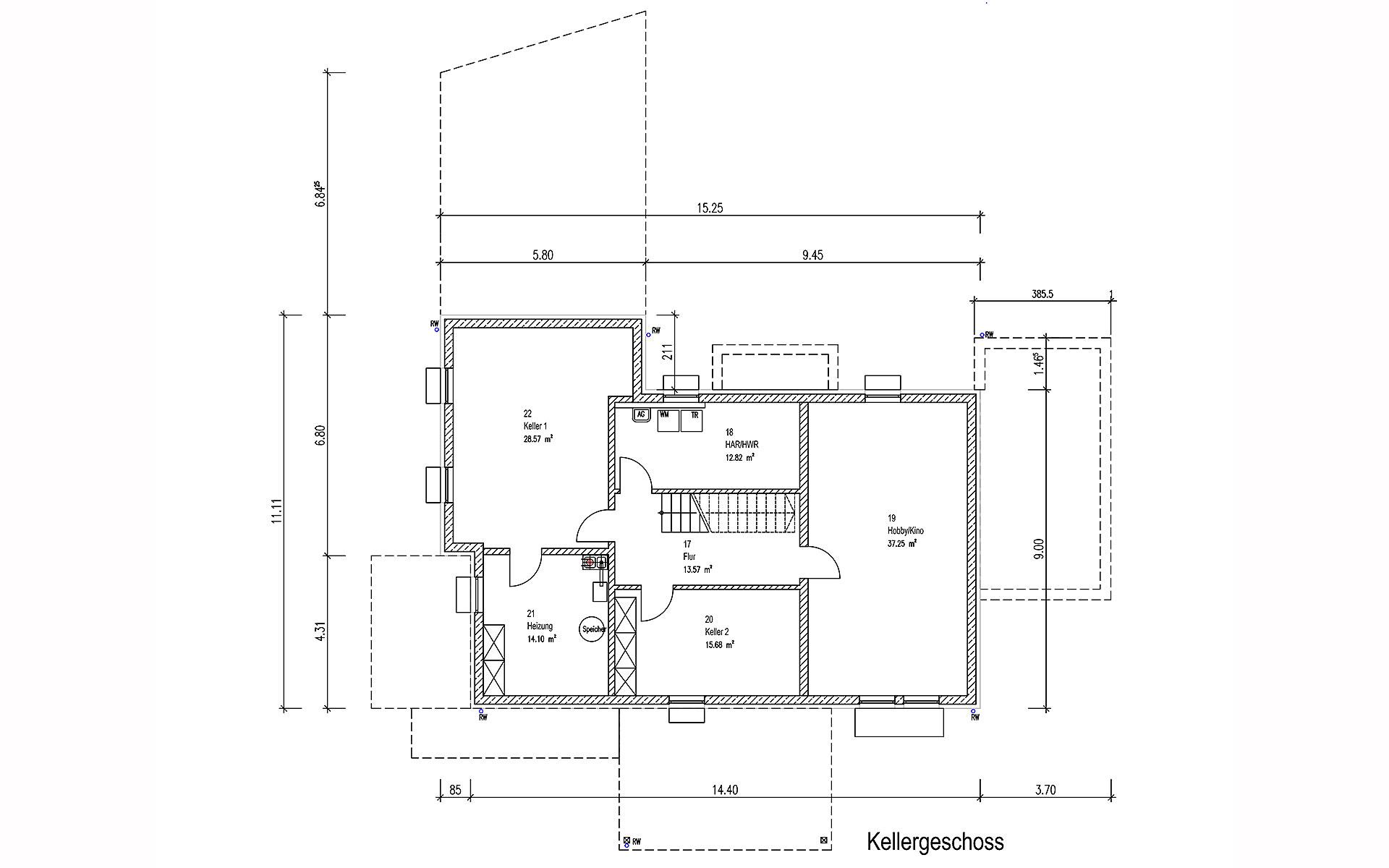 Keller Oberndorf von Sonnleitner Holzbauwerke GmbH & Co. KG