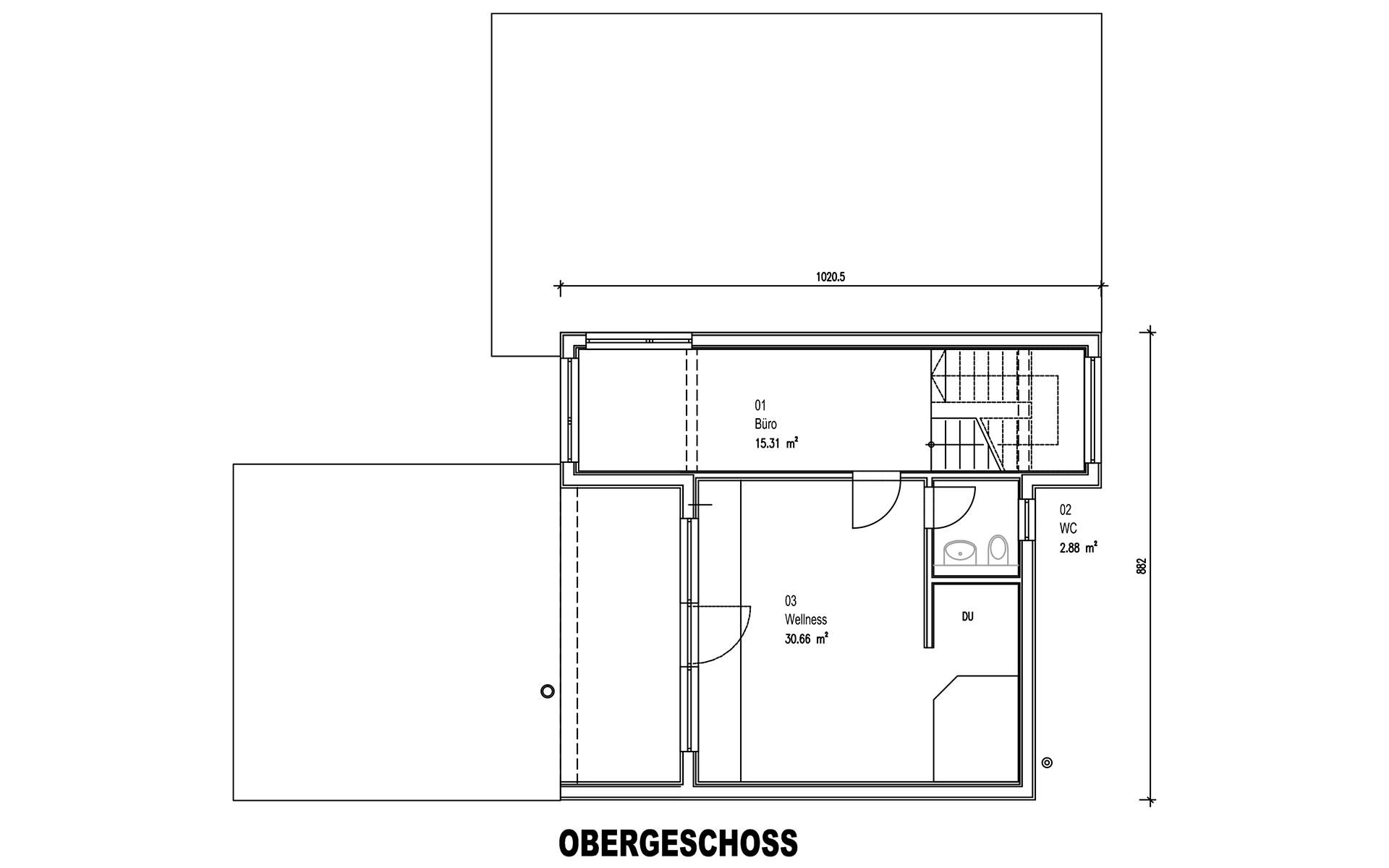 Obergeschoss Rodler von Sonnleitner Holzbauwerke GmbH & Co. KG
