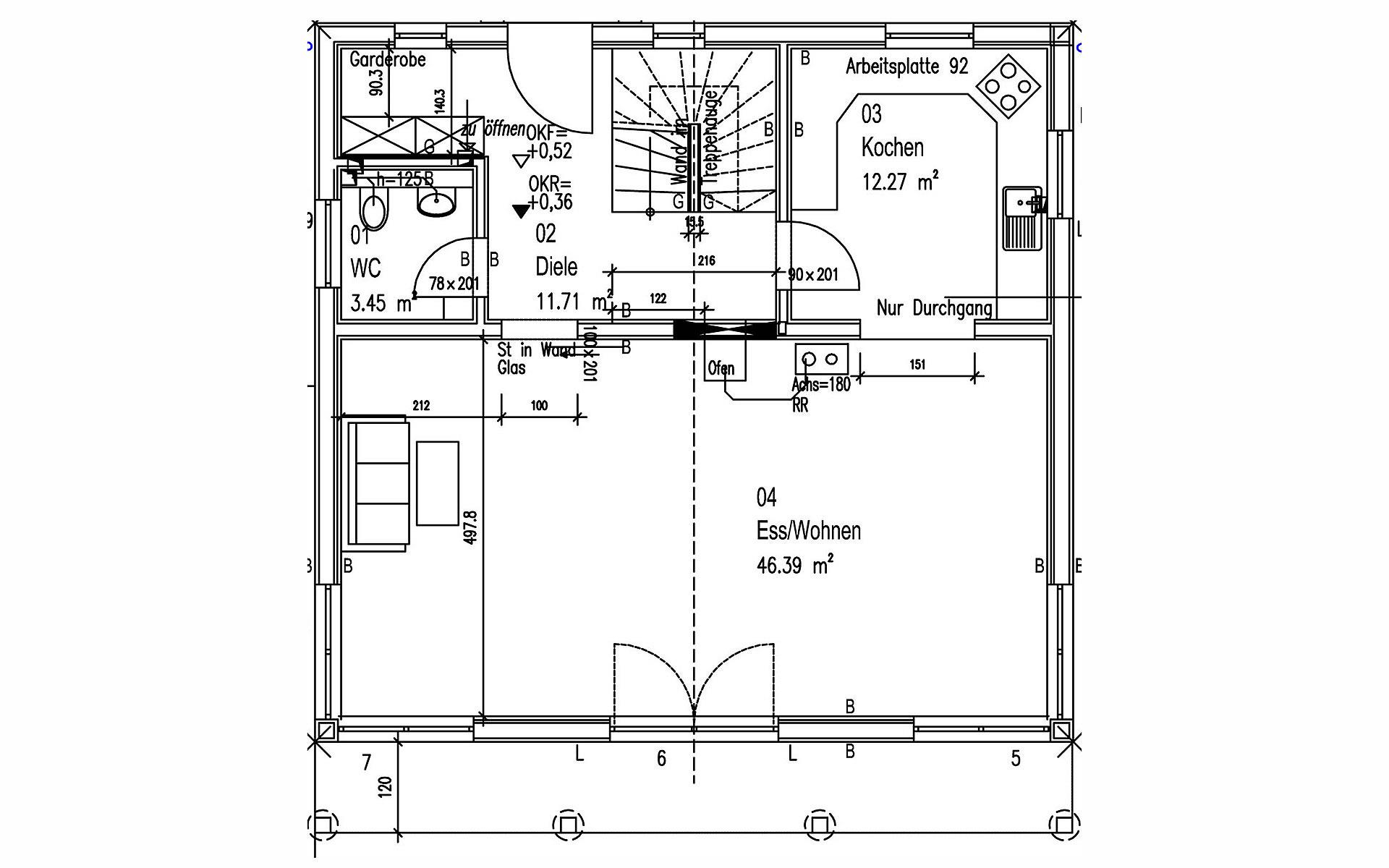 Erdgeschoss Spielberger von Sonnleitner Holzbauwerke GmbH & Co. KG