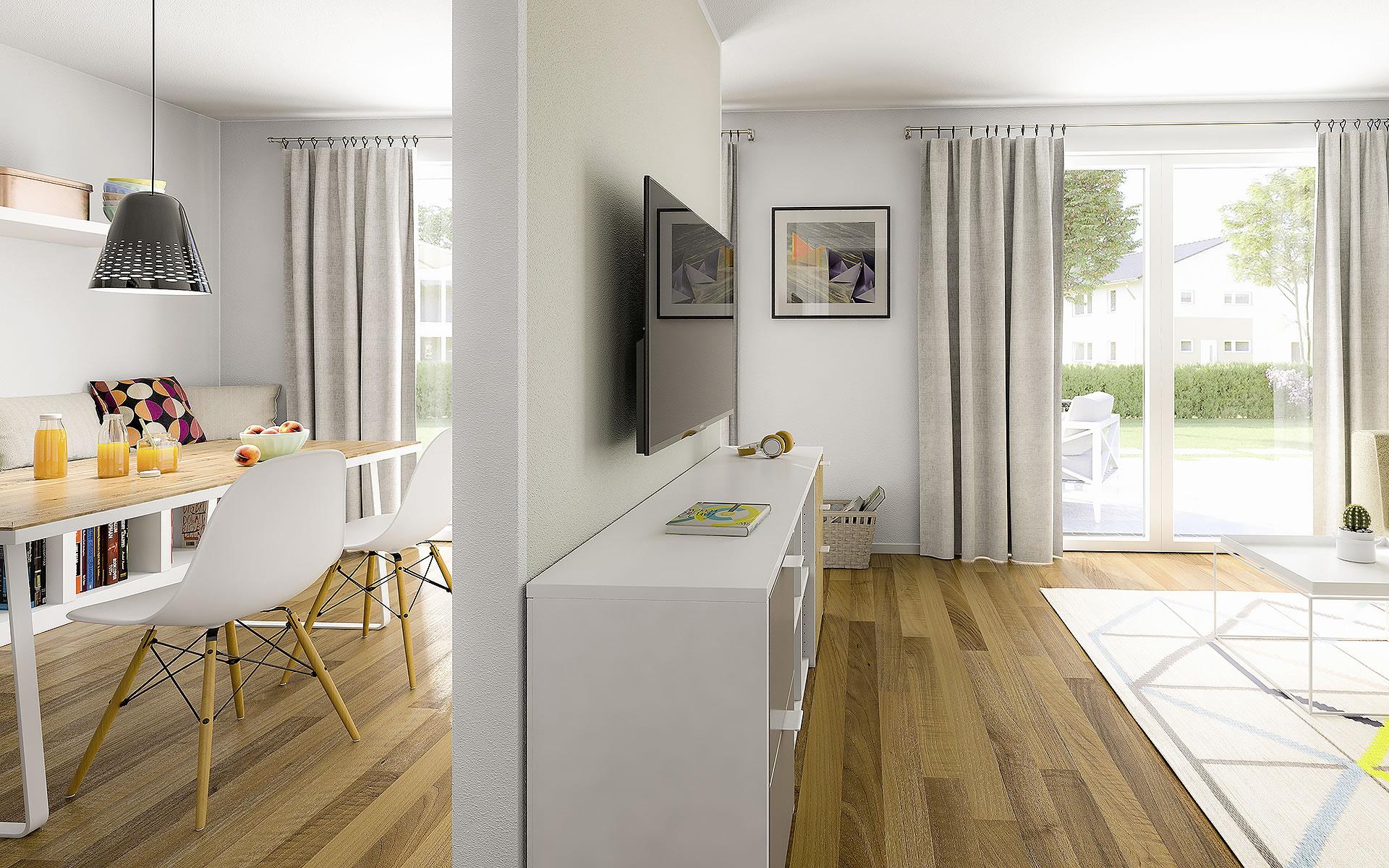 Stadthaus Aura 125 von Town & Country Haus Lizenzgeber GmbH