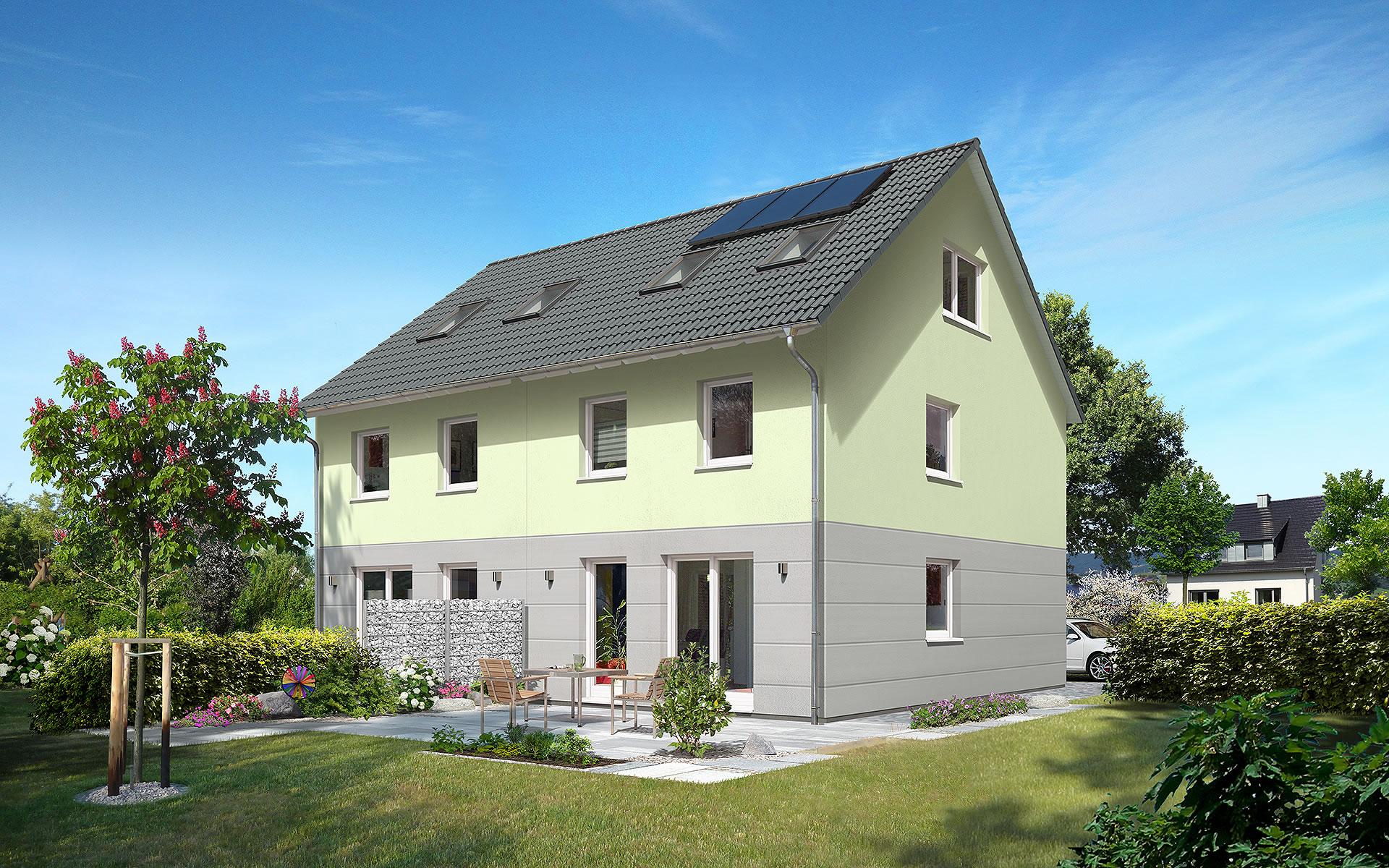 Doppelhaus Mainz 128 von Town & Country Haus Lizenzgeber GmbH