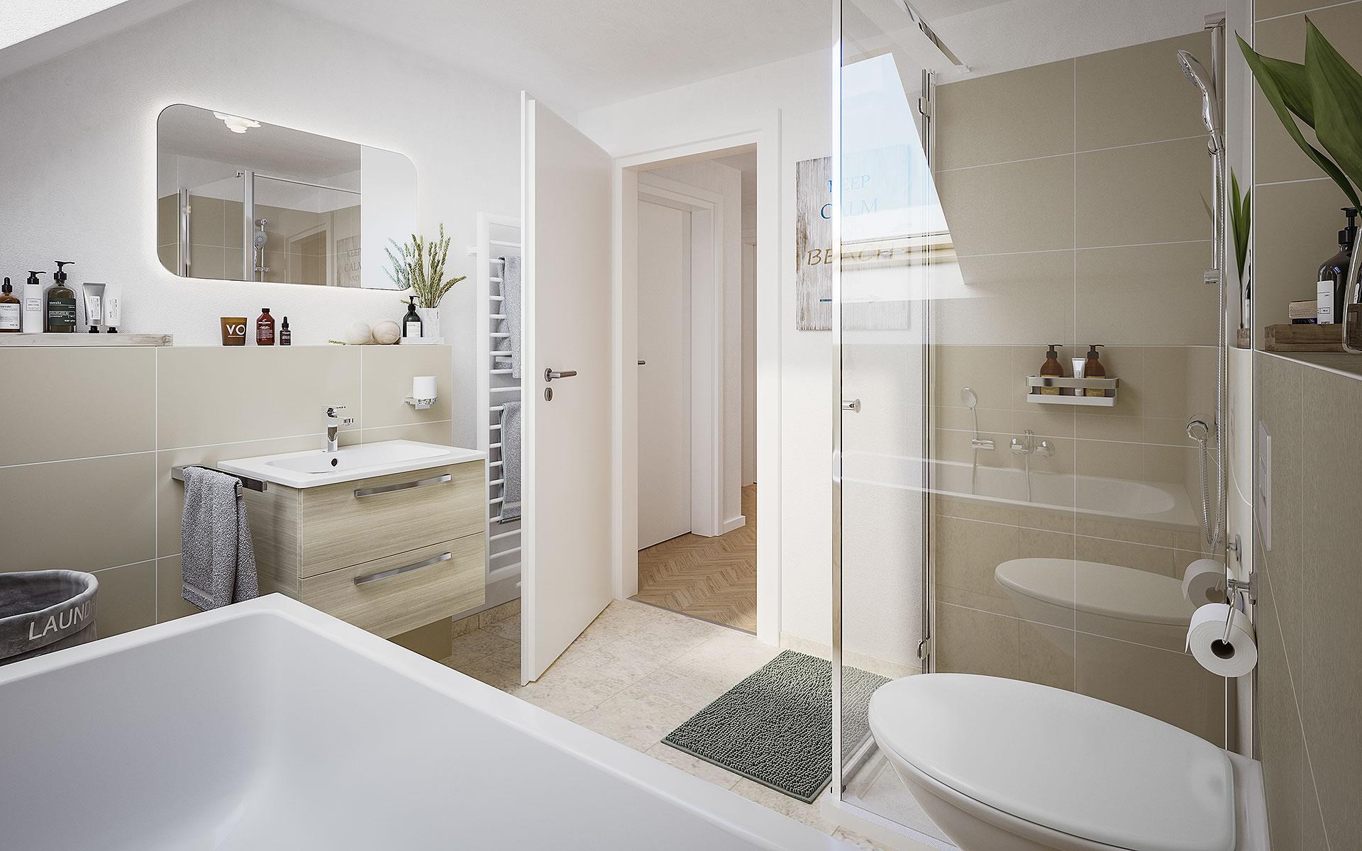 Doppelhaus Behringen 116 von Town & Country Haus Lizenzgeber GmbH