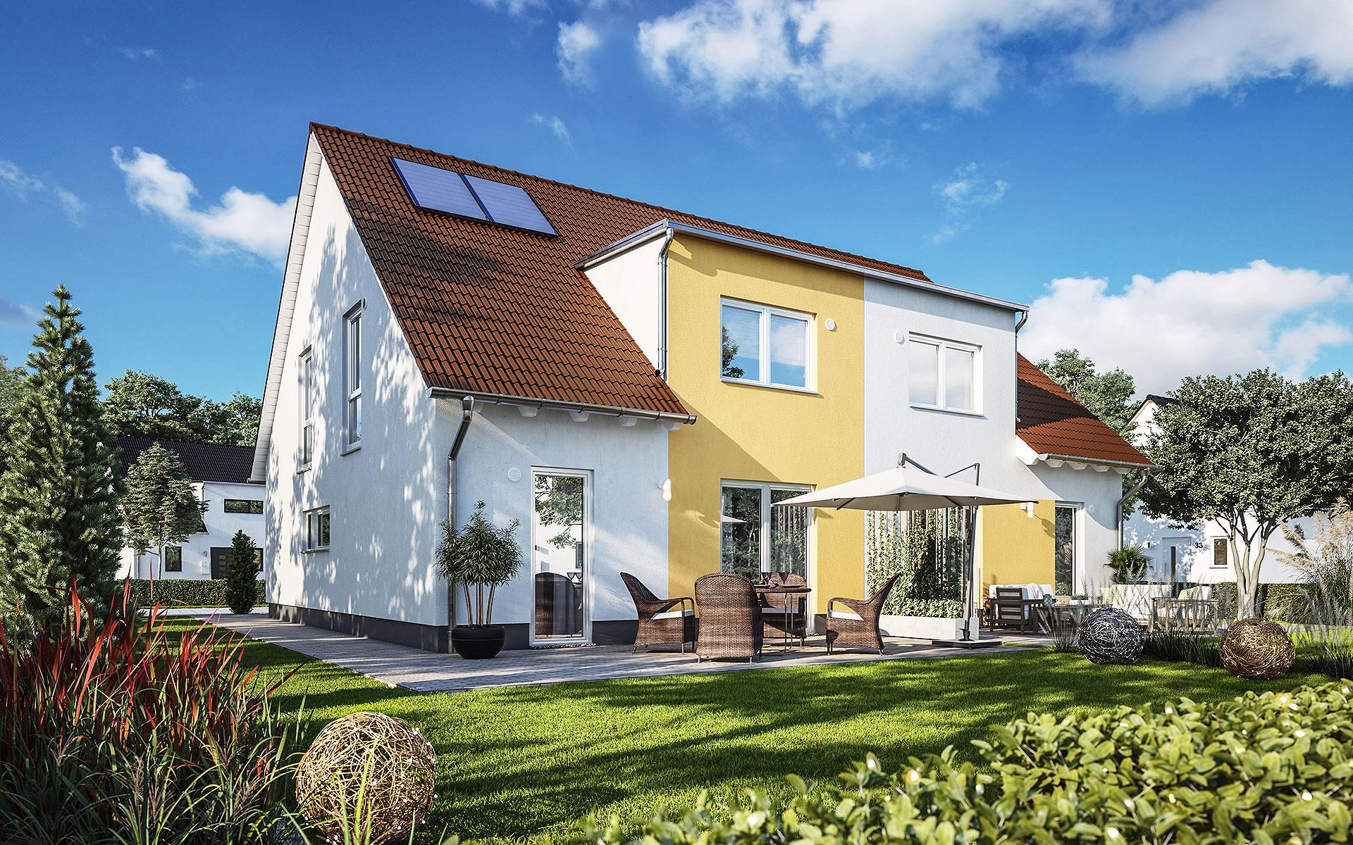 Doppelhaus Duett 125 von Town & Country Haus Lizenzgeber GmbH