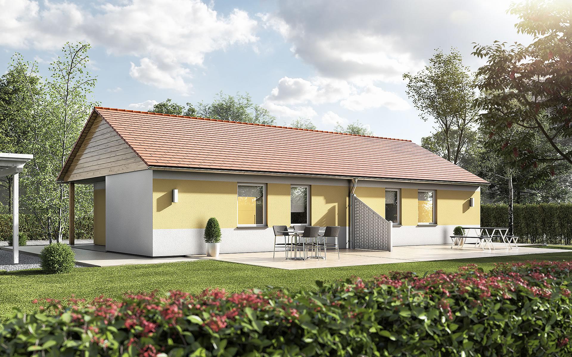 Glückswelthaus DUO von Town & Country Haus Lizenzgeber GmbH