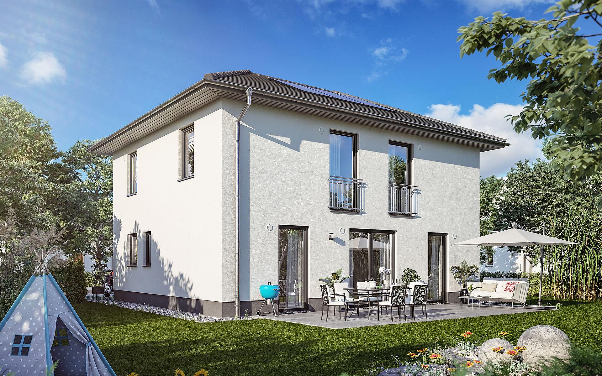 Stadthaus Flair 152 RE von Town & Country Haus Lizenzgeber GmbH