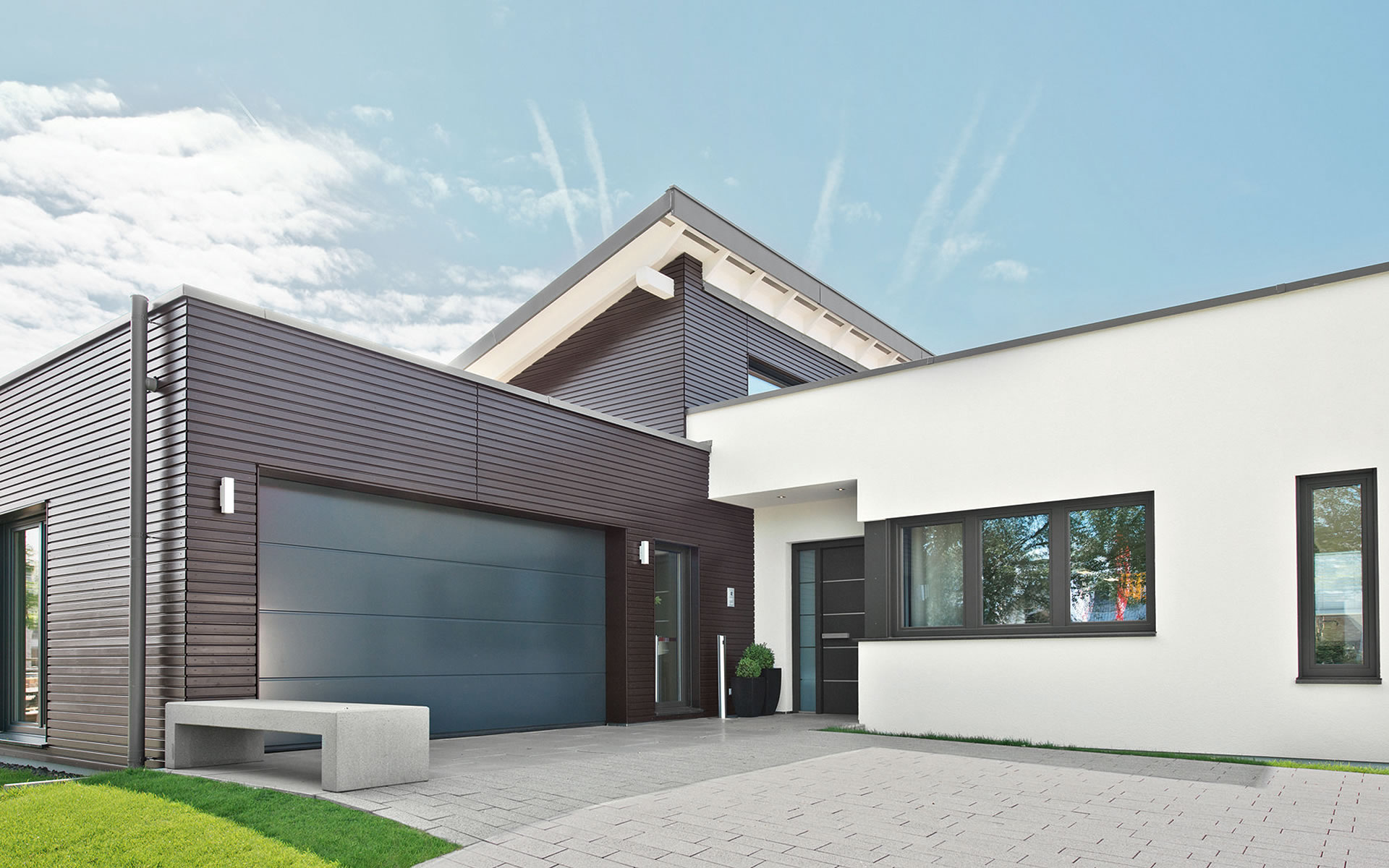Musterhaus Mannheim (ebenLeben) von WeberHaus GmbH & Co. KG