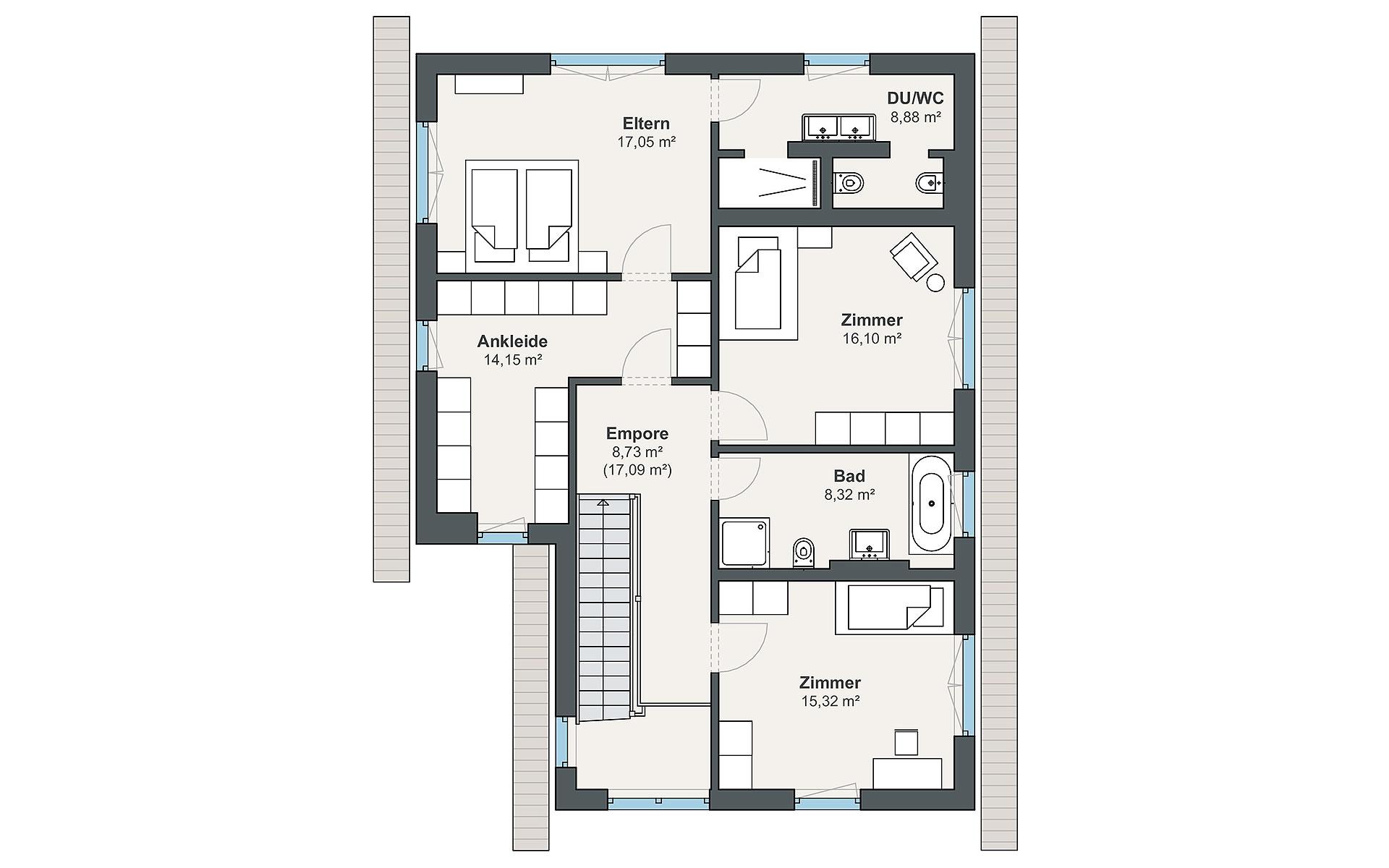 Dachgeschoss Individual (Greve) von WeberHaus GmbH & Co. KG