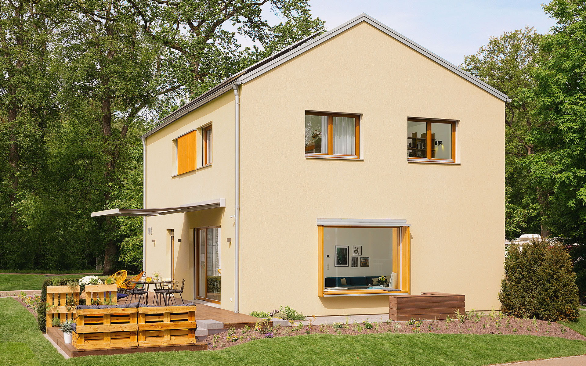 Musterhaus Rheinau-Linx (sunshine) von WeberHaus GmbH & Co. KG