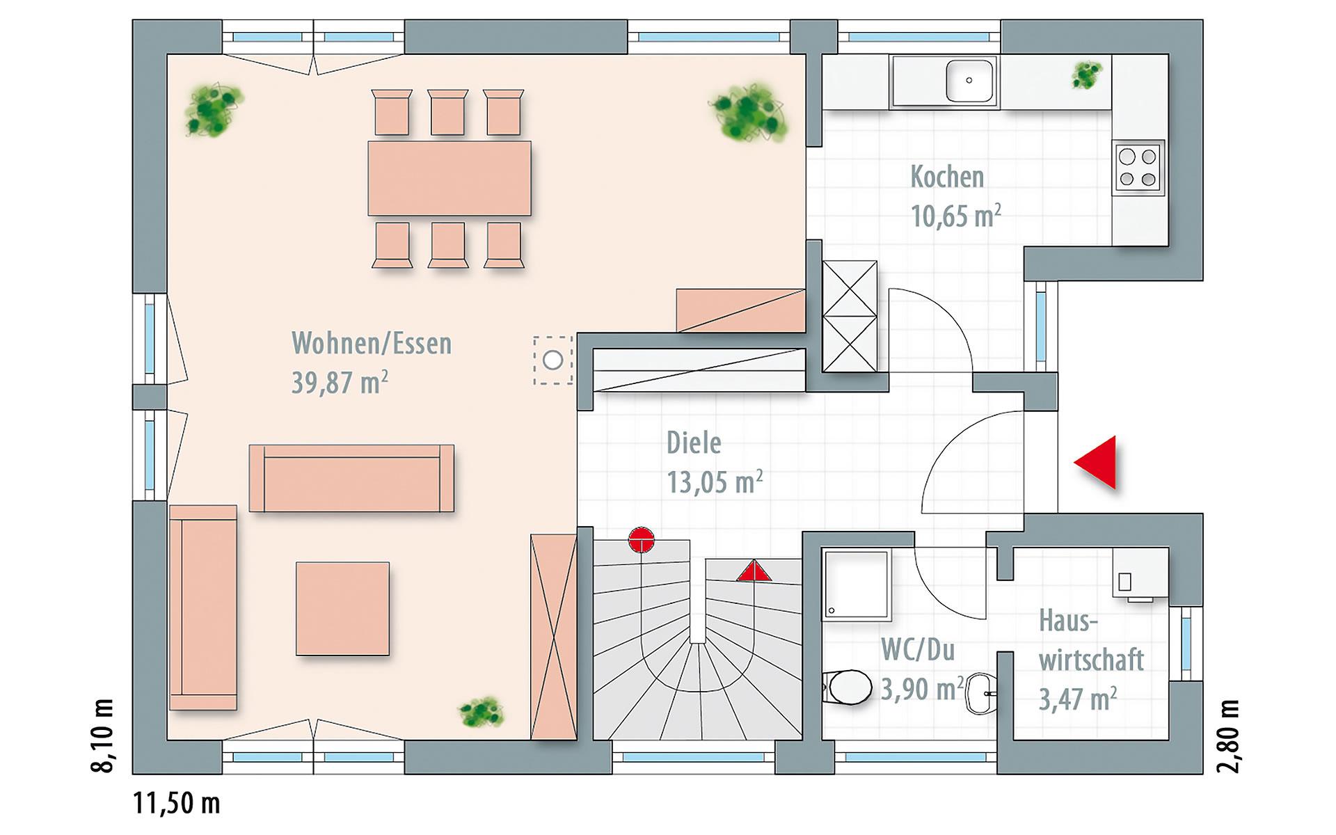 Erdgeschoss Edition 140 von Wolf-Haus-GmbH