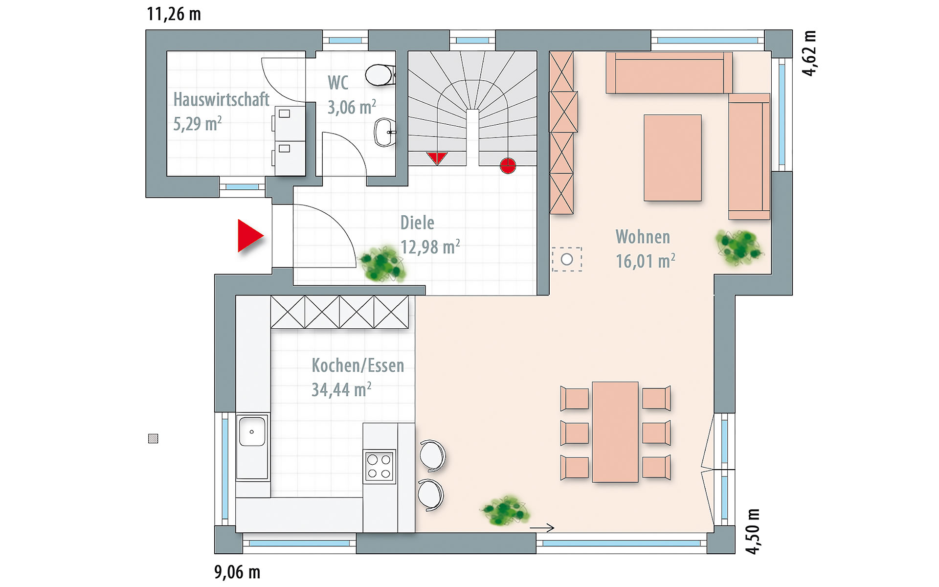 Erdgeschoss Edition 141 von Wolf-Haus-GmbH