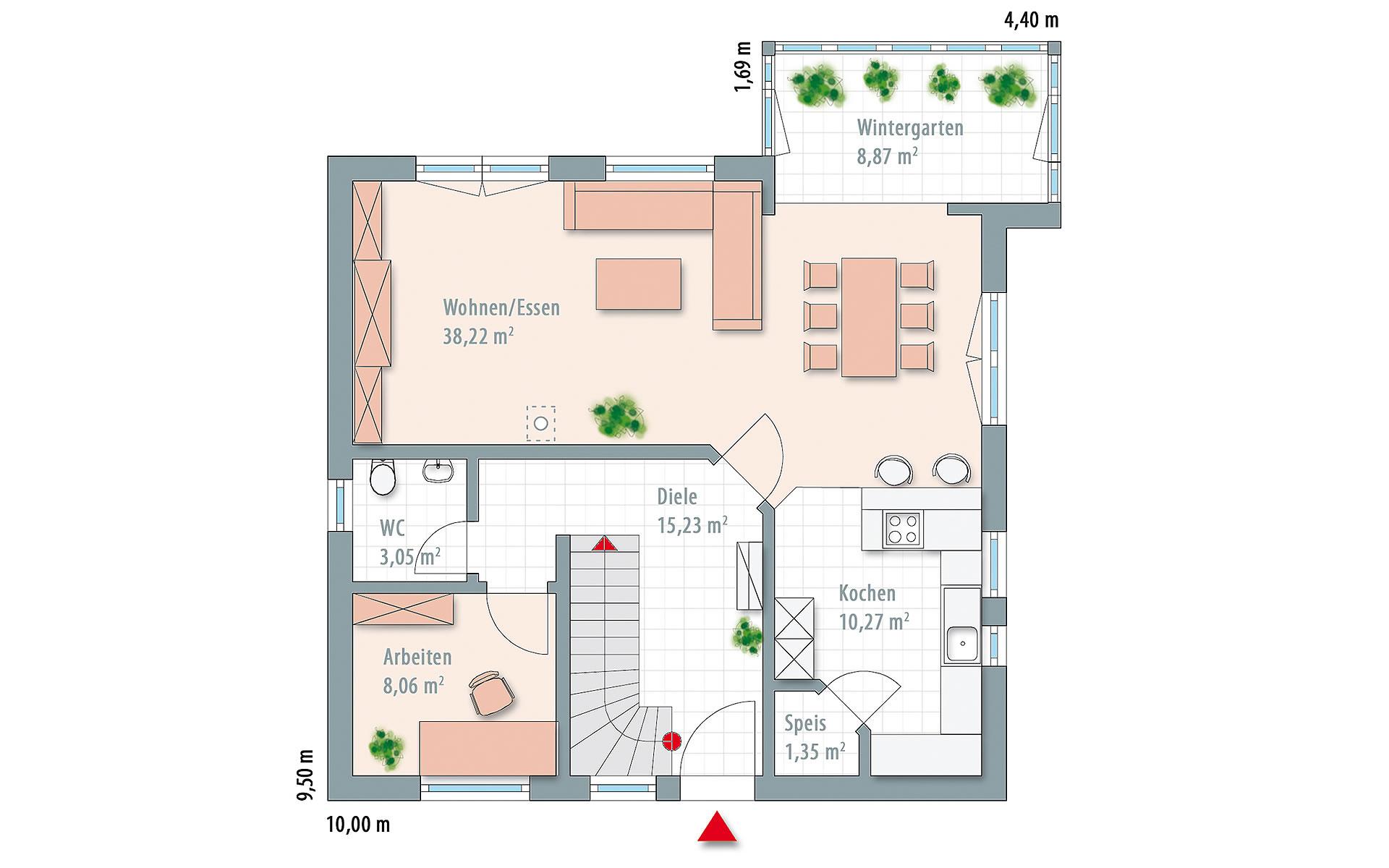 Erdgeschoss Edition 161 von Wolf-Haus-GmbH