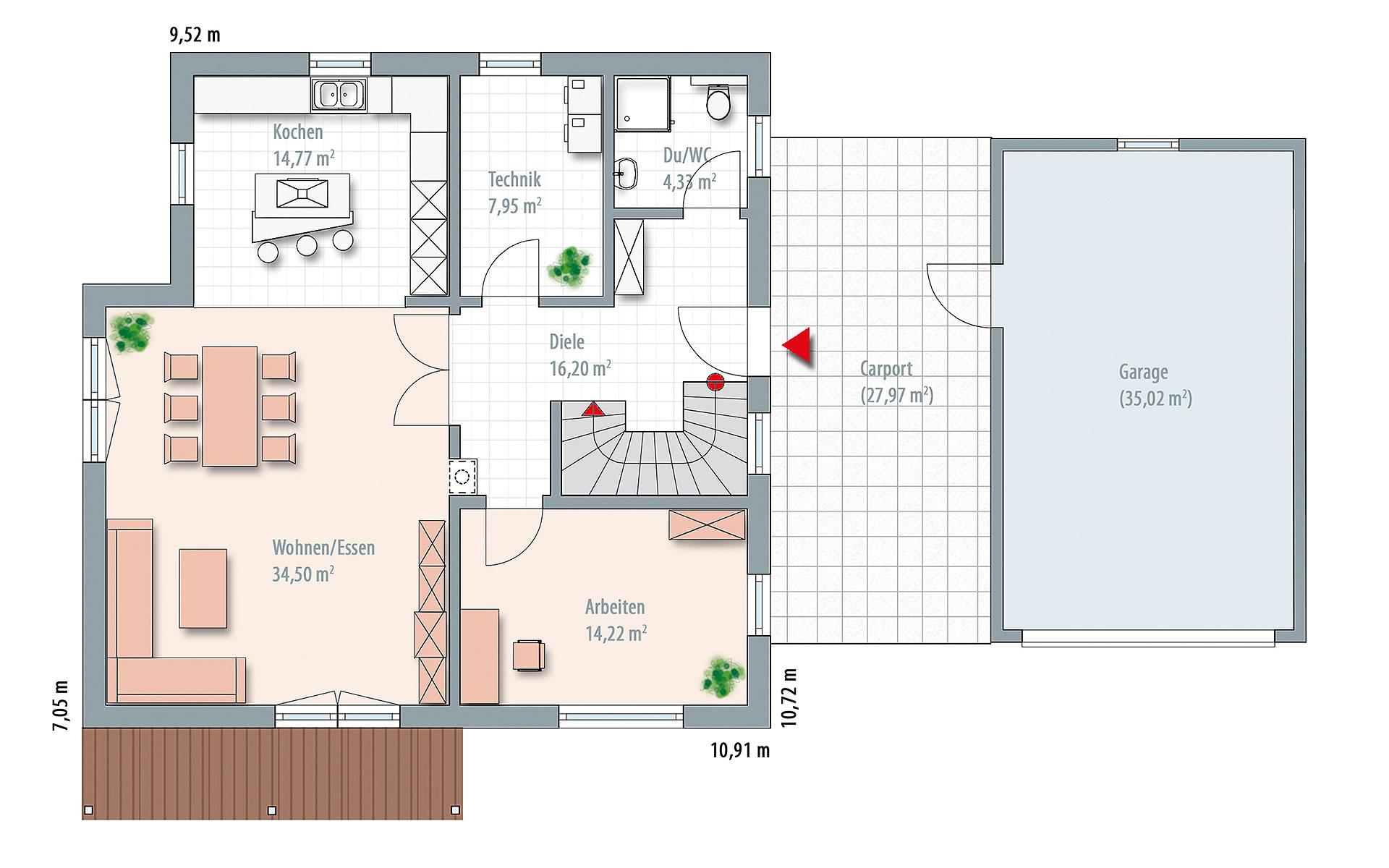 Erdgeschoss Edition 170 von Wolf-Haus-GmbH