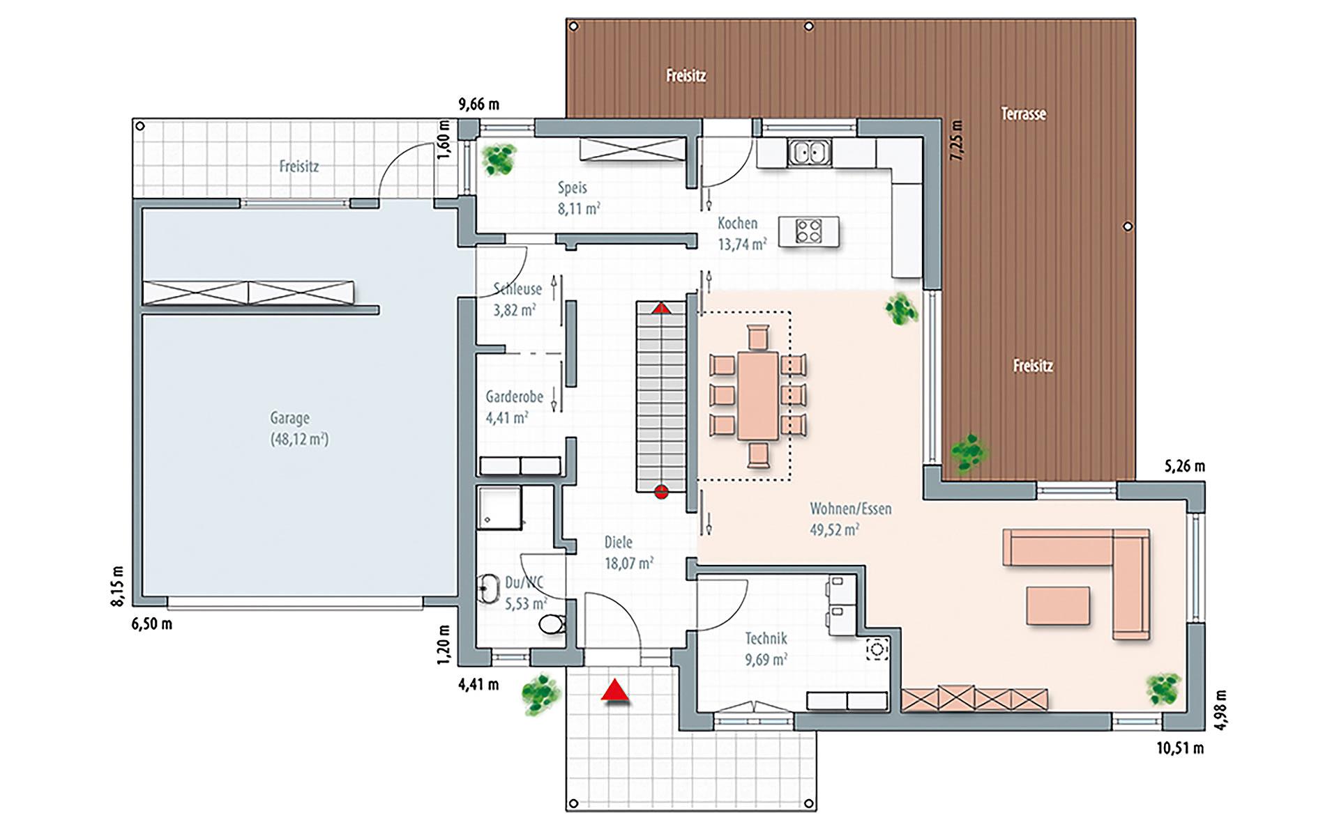 Erdgeschoss Edition Select 236 von Wolf-Haus-GmbH