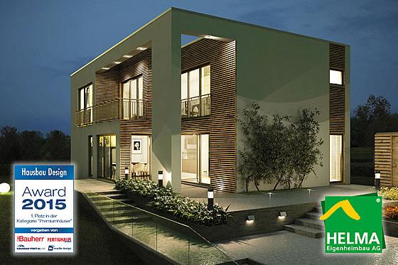 Alicante belegt den 1. Platz beim Hausbau Design Award 2015 - Foto: HELMA