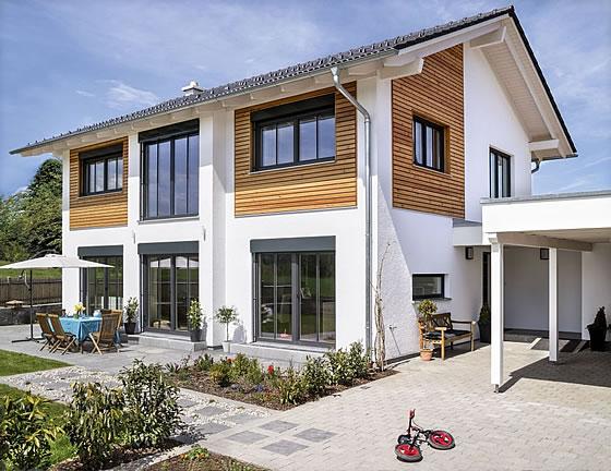 Hausbau Design Award 2015: Haus Glonn auf dem 1. Platz. Foto: Regnauer