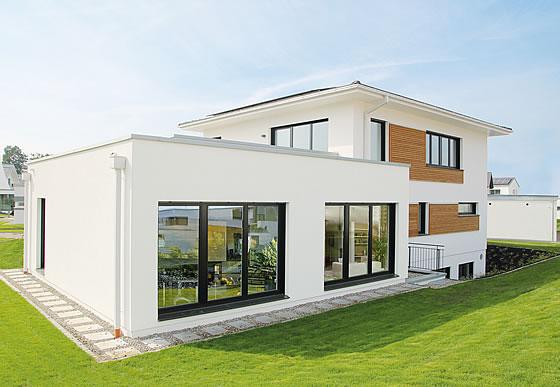 weberhaus pr sentiert moderne stadtvilla in g nzburg. Black Bedroom Furniture Sets. Home Design Ideas