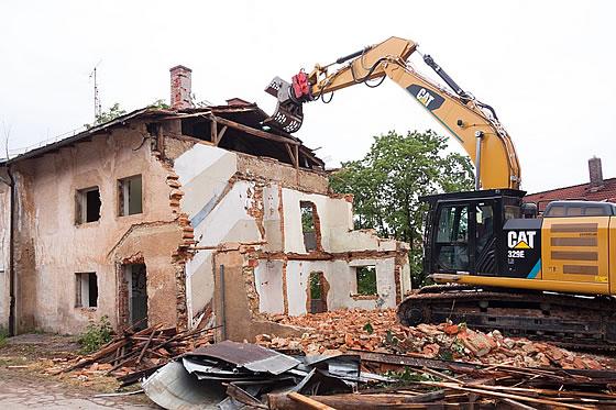 Wenn Altes für Neues weichen muss - Der Abriss einer Immobilie. Foto: stumm / pixabay.com