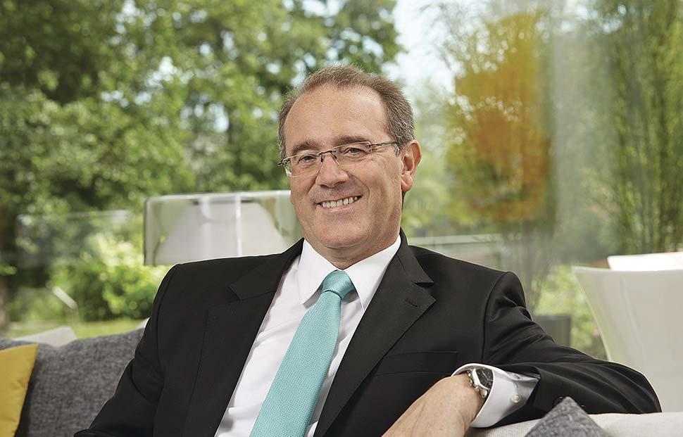 Klaus-Dieter Schwendemann, Marketingleiter bei WeberHaus. Foto: WeberHaus