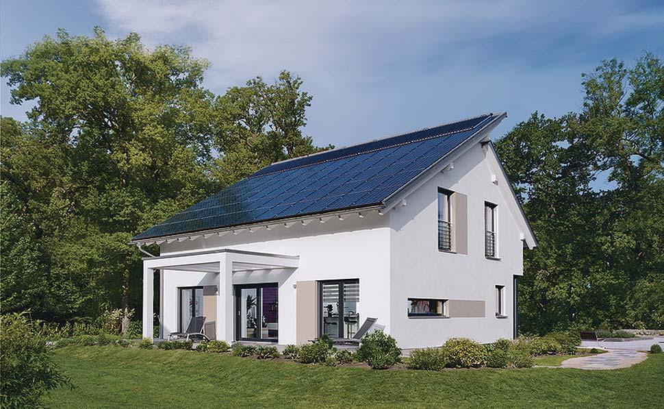 Home4Future - Das attraktive Ausstattungspaket für Ihr zukunftsfähiges Haus. Foto: WeberHaus