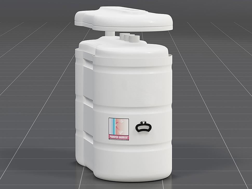 Bei modernen Kunststofftanks umschließt ein Außentank wie eine zweite Hülle den eigentlichen Öltank. Somit wird zuverlässig ein mögliches Auslaufen des Heizöls verhindert und der bisherige Auffangraum im Keller überflüssig. Ein weiteres Plus: Bei Kunststofftanks besteht keine Korrosionsgefahr. Foto: Bundesverband Lagerbehälter e.V.