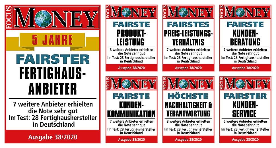 """Dauerhaft gut: Bien-Zenker ist """"Fairster Fertighausanbieter"""" – auch in der neuen 5-Jahres-Wertung"""