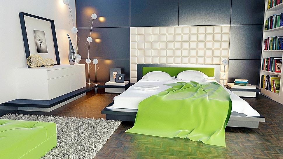 Die Bettausstattung spielt eine große Rolle bei der Frage, wie erholsam die Nachtruhe ausfällt. Die richtige Bettauflage sorgt hier für das Plus an Komfort. Foto: keresi72 / pixabay.com