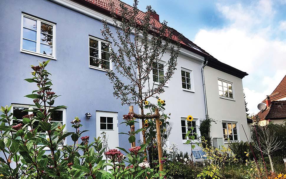Unauffällige Fassade – aber außergewöhnlich gute Energiewerte! Bild Nr. 6416, Quelle: www.makehouse.de / Ulrike Link / BHW Bausparkasse.
